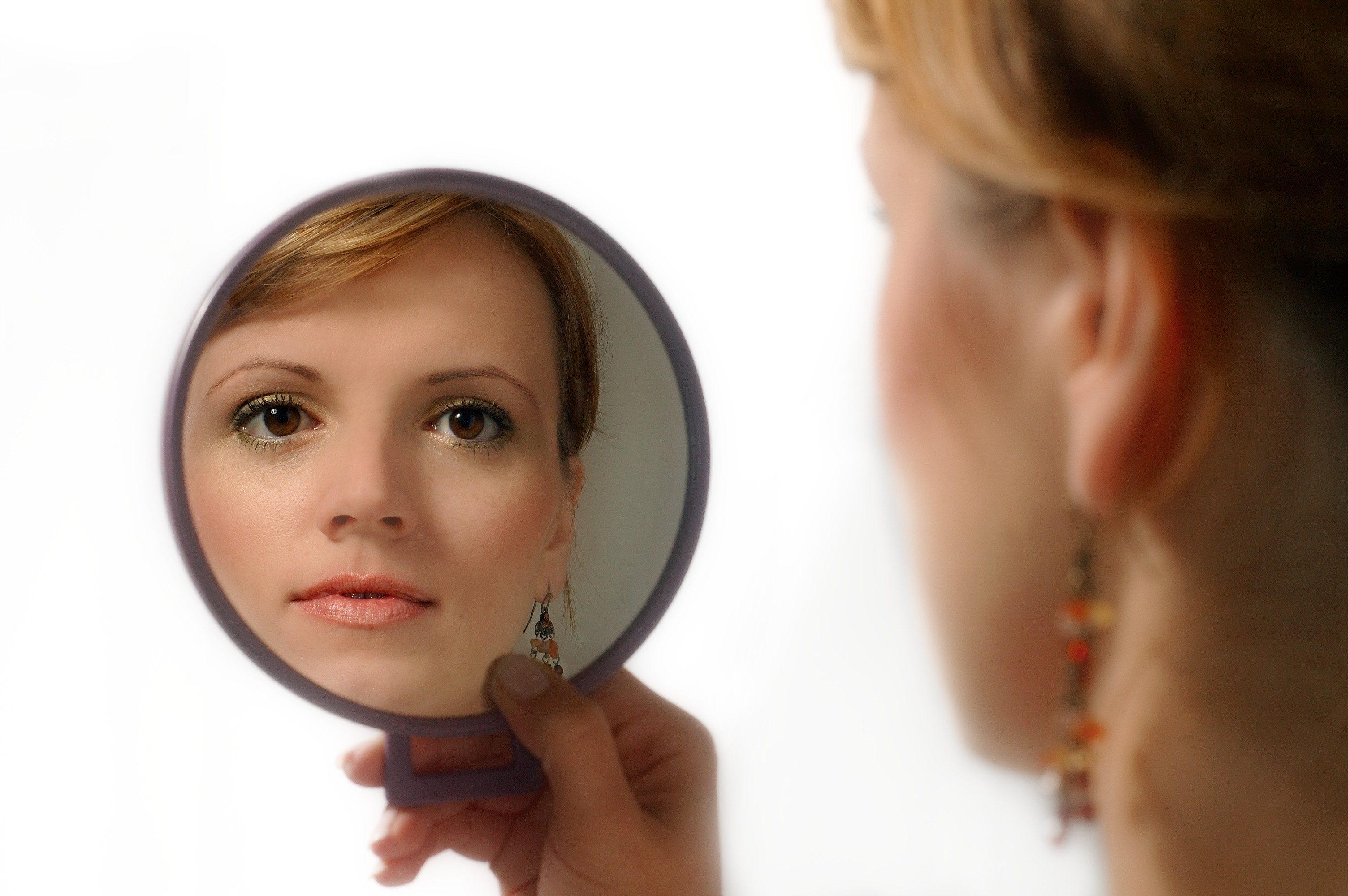 meet yourself in the mirror