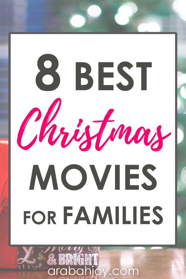 8 best Christmas movies for families