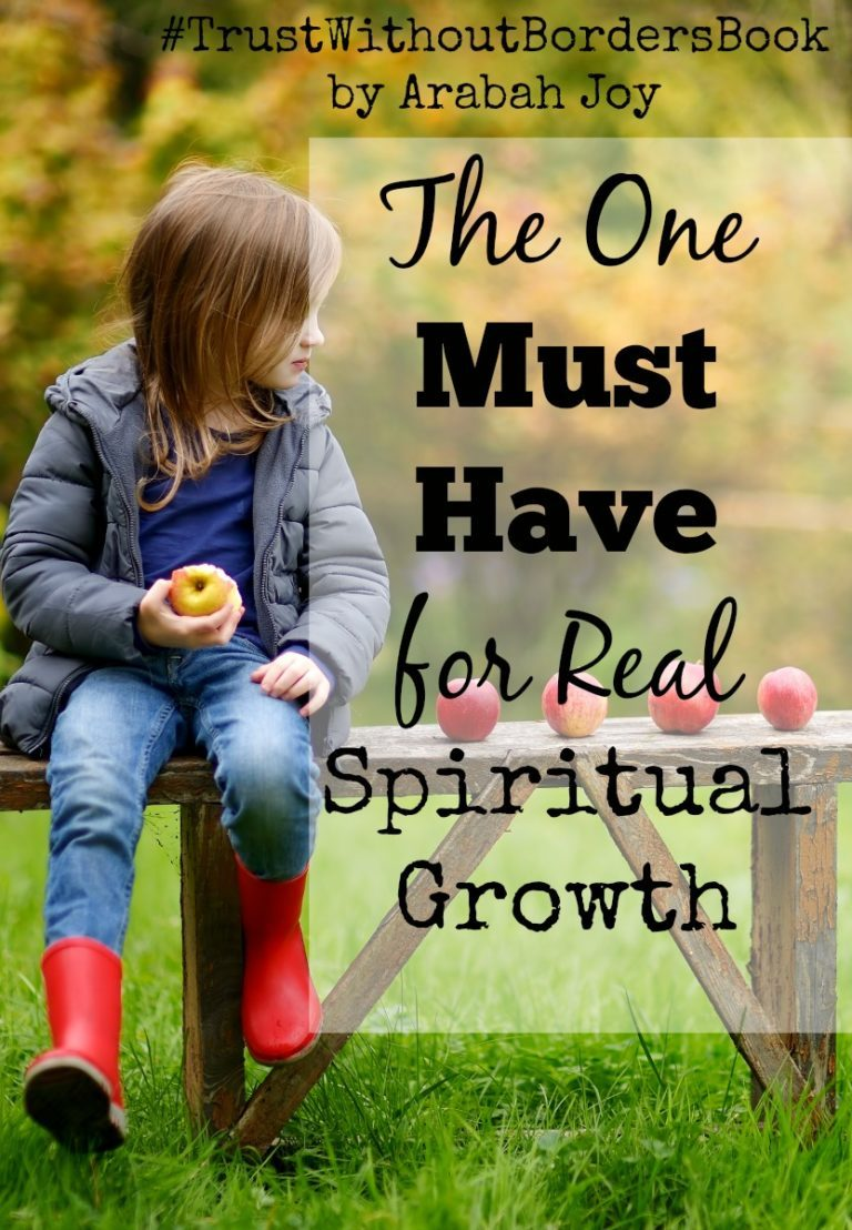 The Secret to Growing up In Christ
