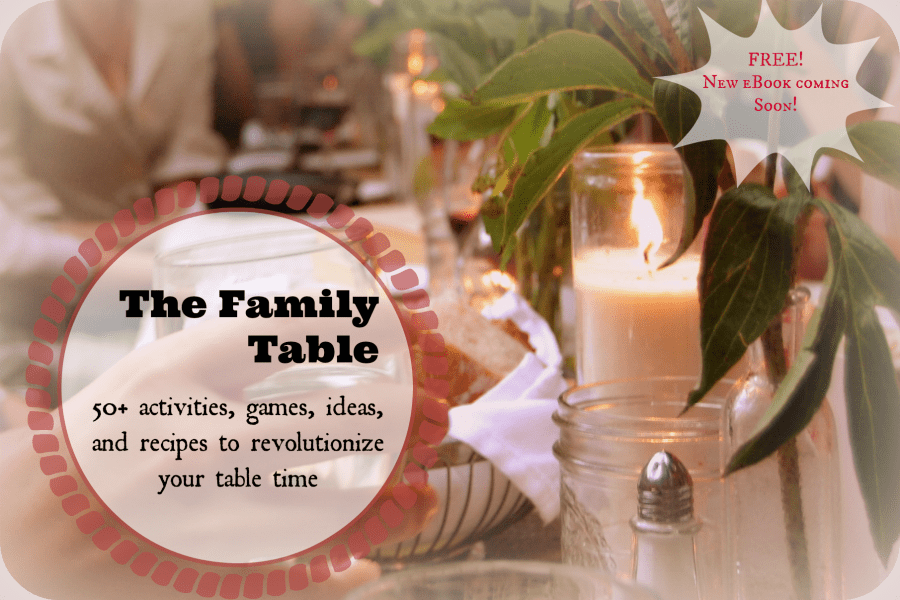 Family Table eBook~ FREE!