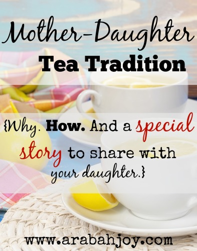 A Tea Tradition for mothers and daughters