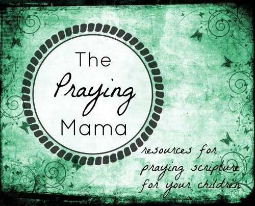 praying mom