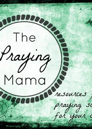 Praying for your kids is one of the most significant things you can do as a mom. Grab this set of scripture prayer cards and regularly pray God's word for your kids!