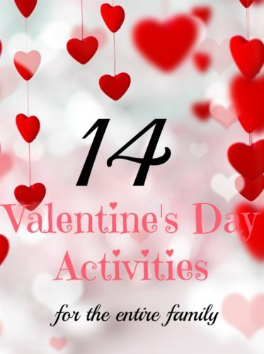 Family Traditions for Valentine's Day - Try these 14 Valentine's Day activities that focus on God's love. #ValentinesDay #Valentines #tradition