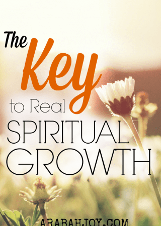 Do you long for real spiritual growth in your life? Scripture tells us there is one requirement for spiritual growth. Click over to find out what it is... it may surprise you!