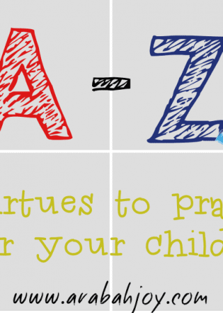 Praying scripture for your kids is easy with these prayer cards