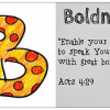 B is for Boldness {Virtues to pray for your children}