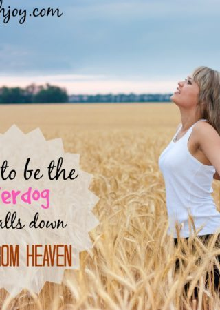 How to be an underdog who calls fire from heaven