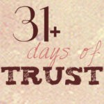 31 days of trust without borders