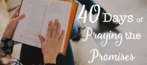 40 Days of Praying the Promises Slider