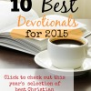 Best Christian Devotionals for 2015