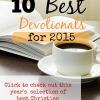 Best Christian Devotionals for 2015