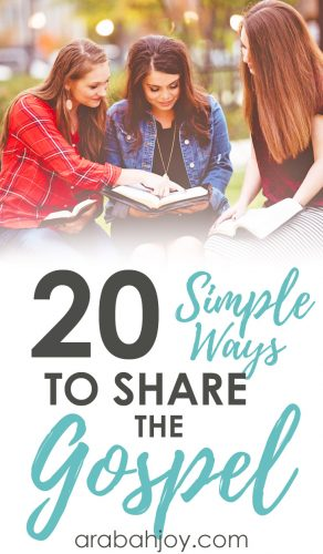 Simple Ways to Share the Gospel
