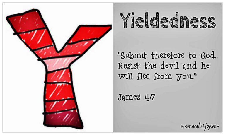 Prayer Card: Y is for Yieldedness