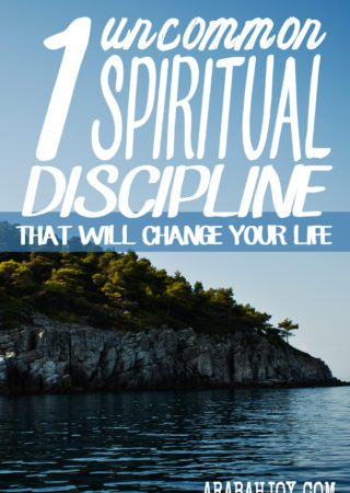 1 UNCOMMON SPIRITUAL DISCIPLINE