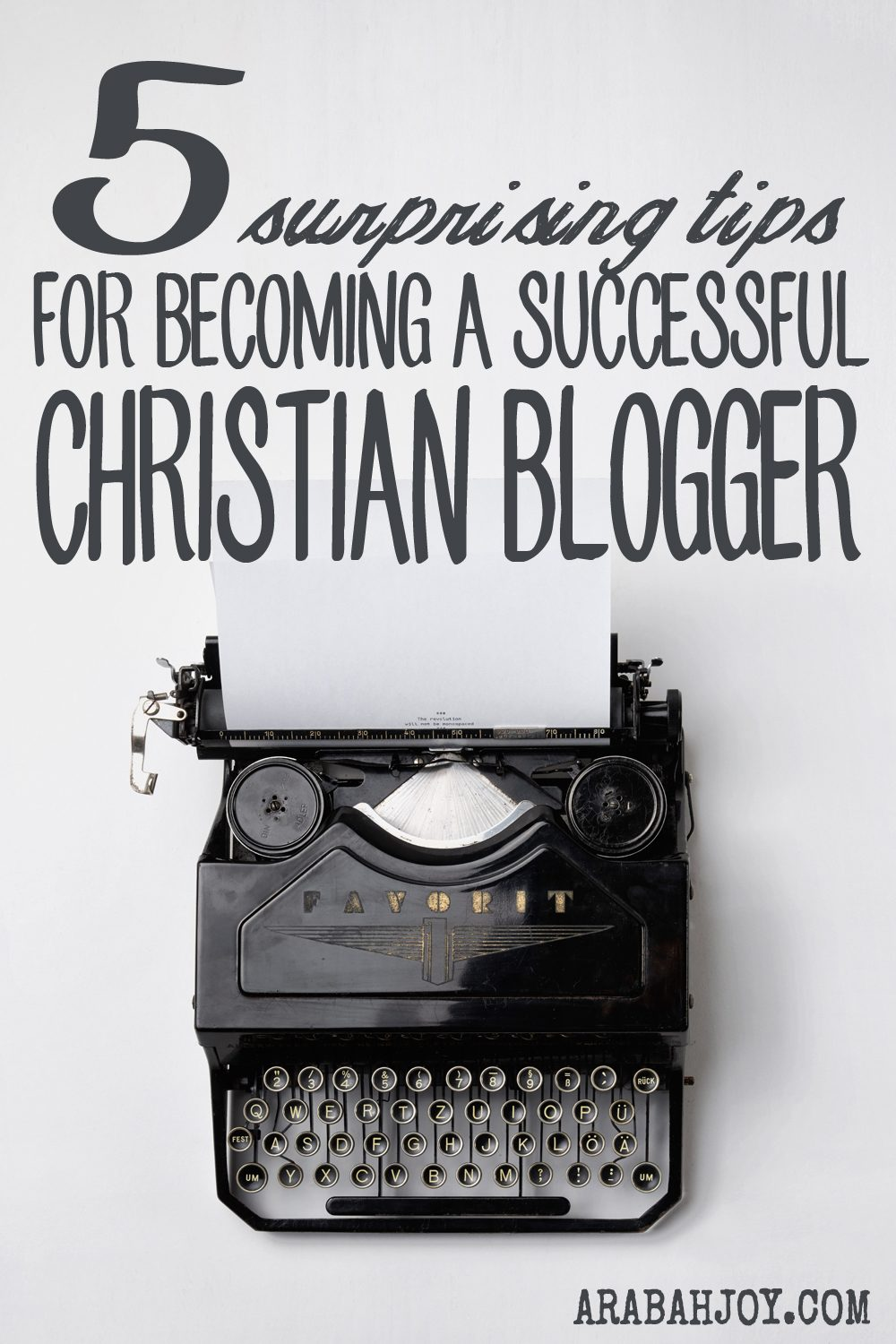 Read these 5 tips for being a successful Christian blogger -- taken from the book of I John.