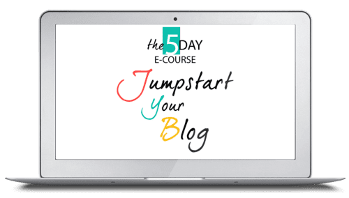 AJ Jumpstart Your Blog Logo