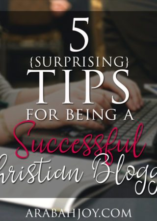 What does it mean to be a successful Christian blogger? How can I biblically evaluate my efforts at blogging and writing. The Bible has a lot to say about writing. Here are 5 tips for being a successful Christian blogger -- taken from the book of I John.