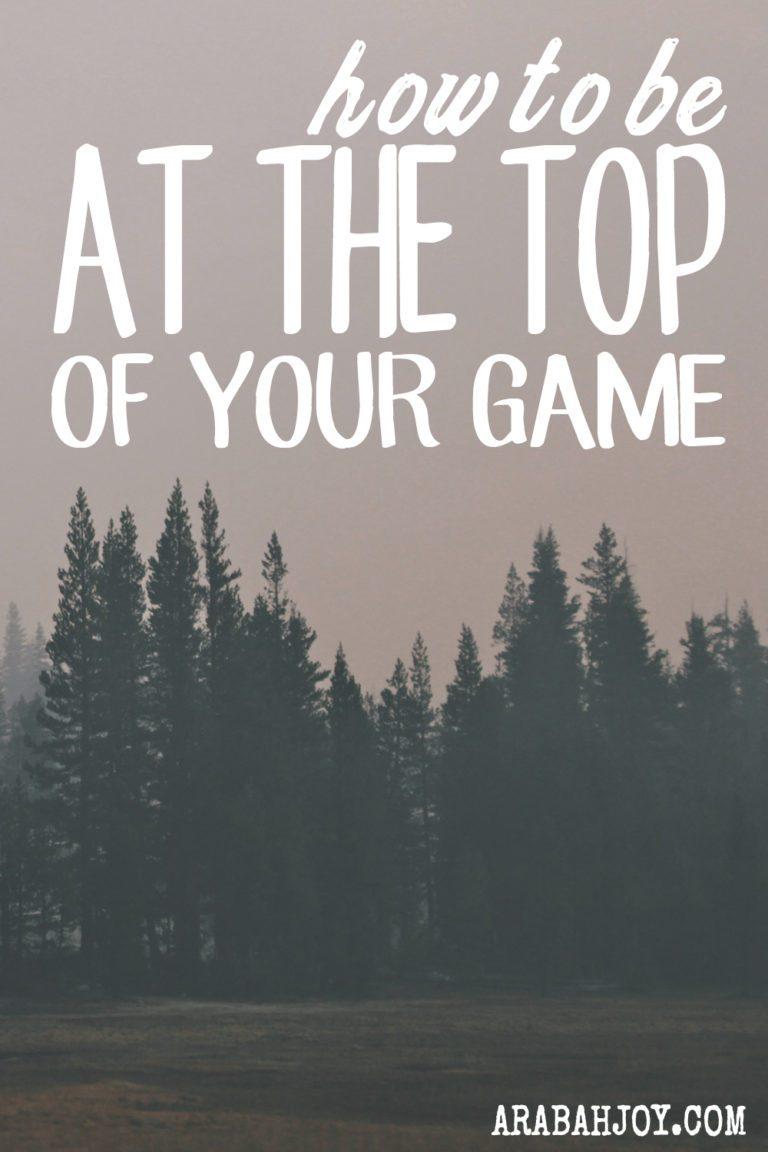The Secret to Winning {When you feel like a Loser}
