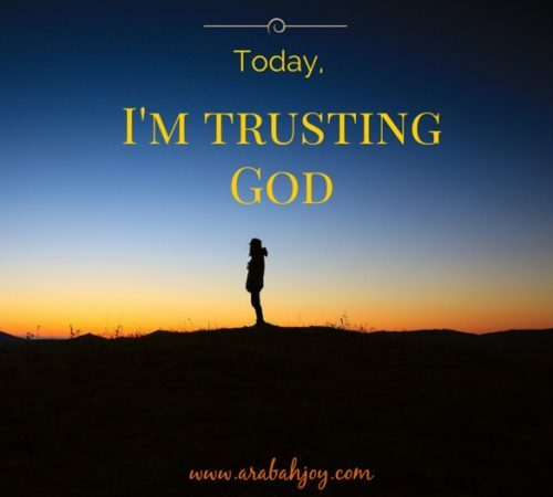 The way we keep ourselves in the love of God is simple: trust.