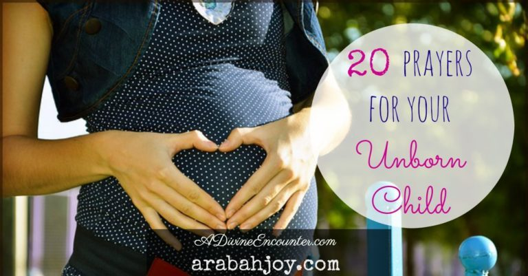 20 Scriptures to Pray Over Your Unborn Baby