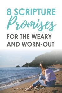 There are days I wake up completely overwhelmed and exhausted. These scripture promises help me deal with stress and feeling like I have nothing left to give. To the overwhelmed mom, there's hope!