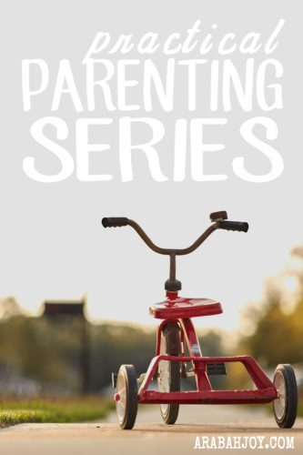 What is the best parenting advice you've ever been given? Is there an issue you're dealing with that you'd love to hear another mom's opinion about? Join me for our Practical Parenting Series!