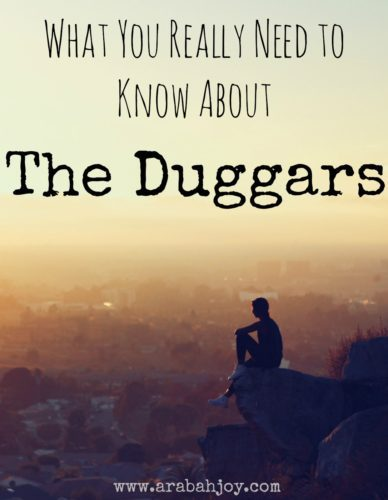 What you really need to know about the Duggars