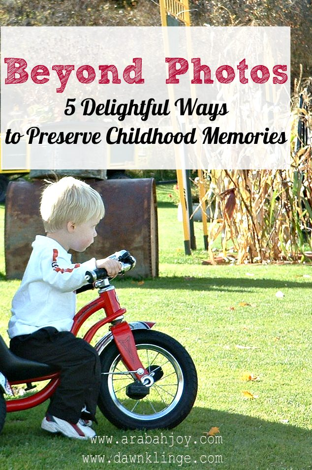 5 Creative Ways to Preserve Memories