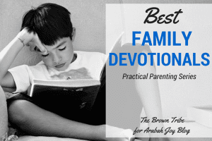 These 5 family devotionals will point your kids to the gospel .