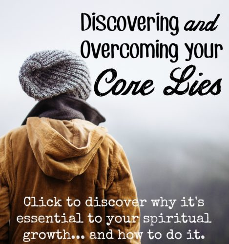 Discovering my internal core lies was one of the most life changing things I've ever experienced. Learn how to identify and overcome YOUR core lies and walk in freedom and Truth today!