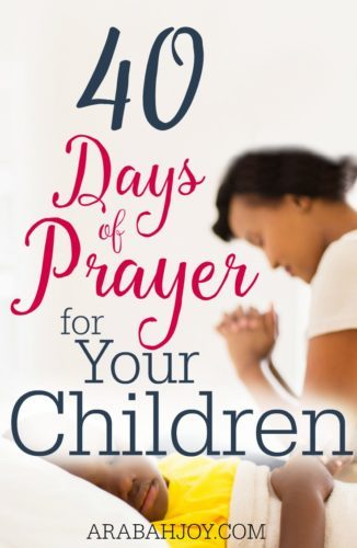 Want to pray BIG prayers for your child but don't know where to start? Join us for our 40 Day Prayer Challenge and pray one promise a day from God's word