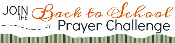 Join us in praying God's word over your children as they head back to school! This FREE challenge will provide you everything you need to pray God's word!