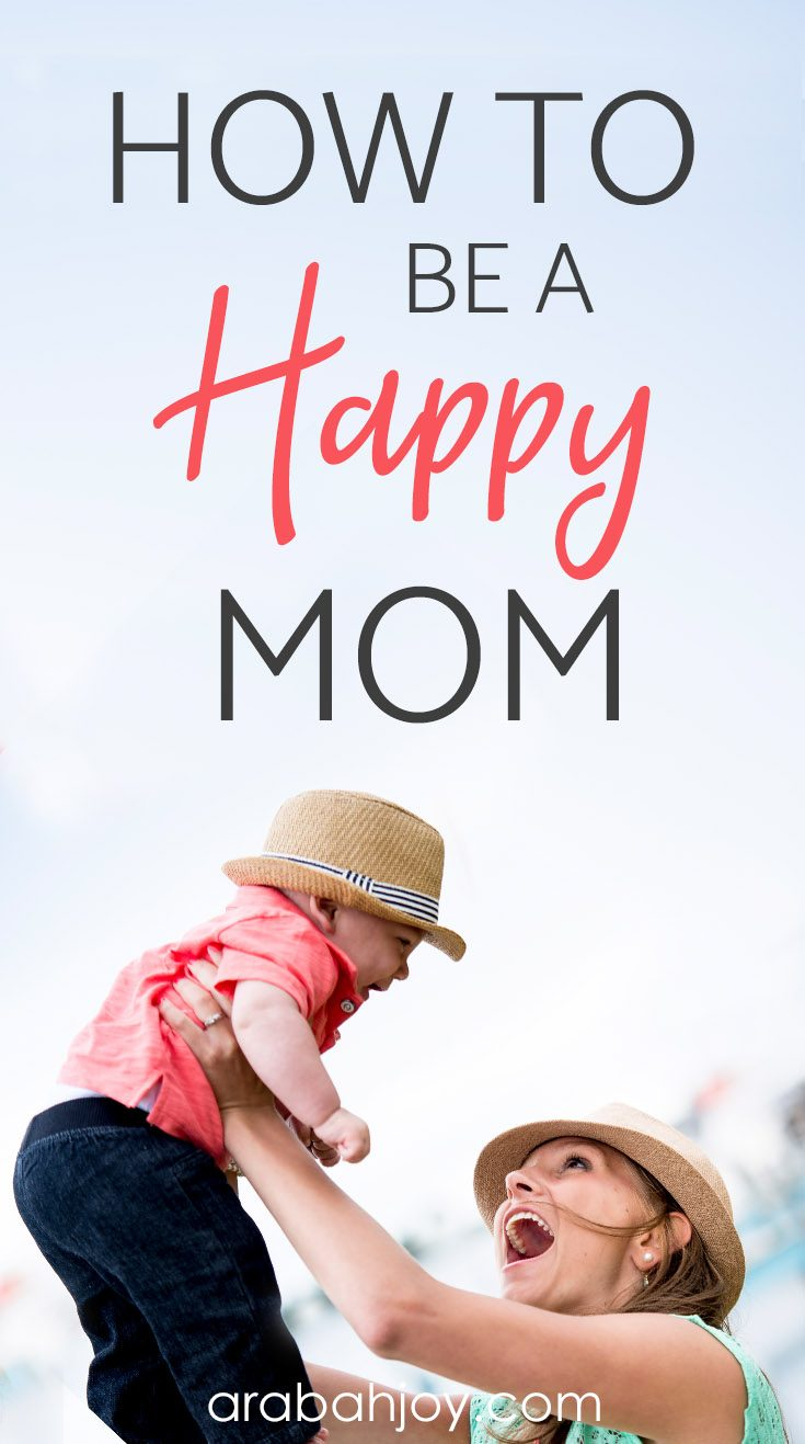 Finding joy in parenting can be a challenge. Read the secret to being a happy mom- I bet it's not what you'd expect.