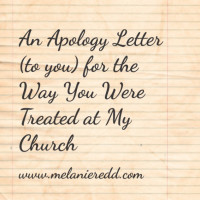 To those wounded by the church