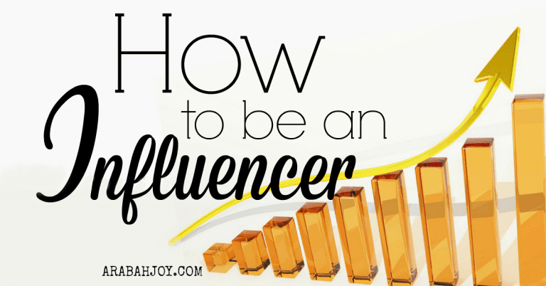 How to really be an Influencer