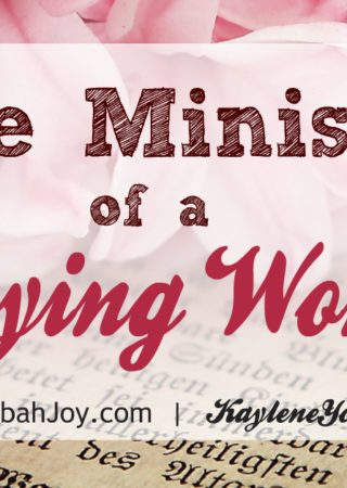 """The War Room"" movie has ignited a desire in many women to pray like never before! It is true that the praying woman has a powerful ministry...one unlike any other. Click to see how you can start your own prayer ministry."