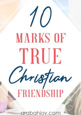 If you're looking to form healthy Christian friendships, learn how these marks of true Christian friendship can help you build strong spiritual friendships.