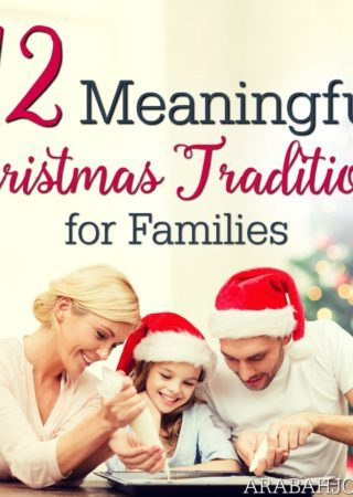 Looking to make Christmas meaningful this year? Check out these unique and meaningful family Christmas traditions!