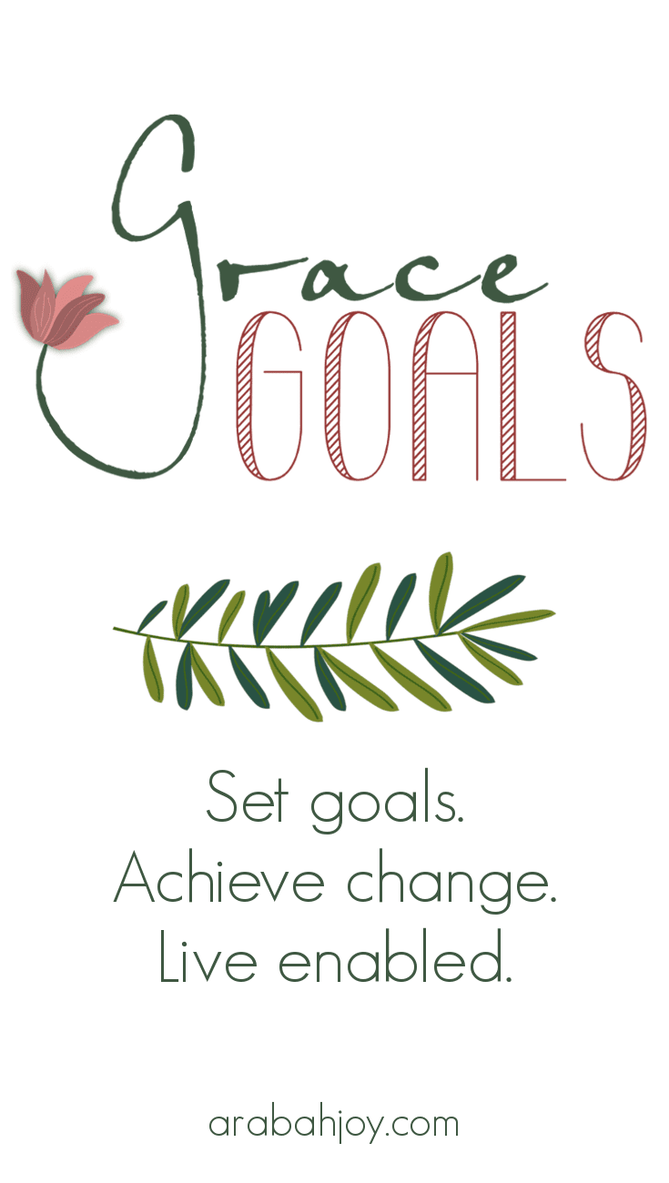 Grace Goals Course for setting goals biblically