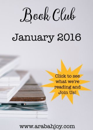 Calling all book lovers! Join us for January's book club!
