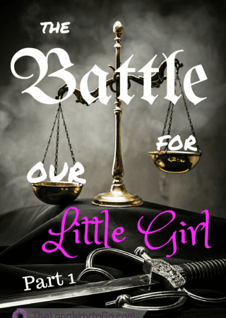 One mom's battle for her little girl...and how God held her even through loss.