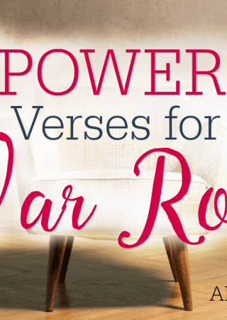 Do you want to deepen your prayer life? These 10 Powerful Scriptures are great for any war room wall- or anywhere else you pray!