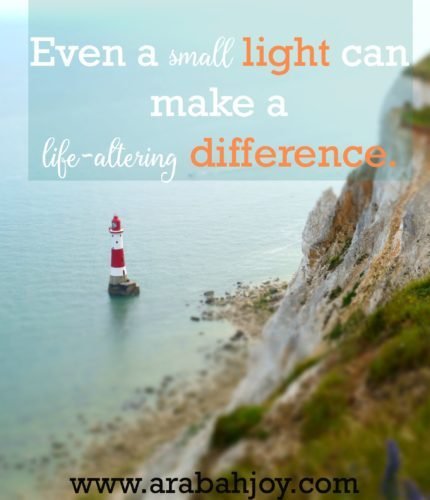 Let your light so shine before men... Here's how to do just that!