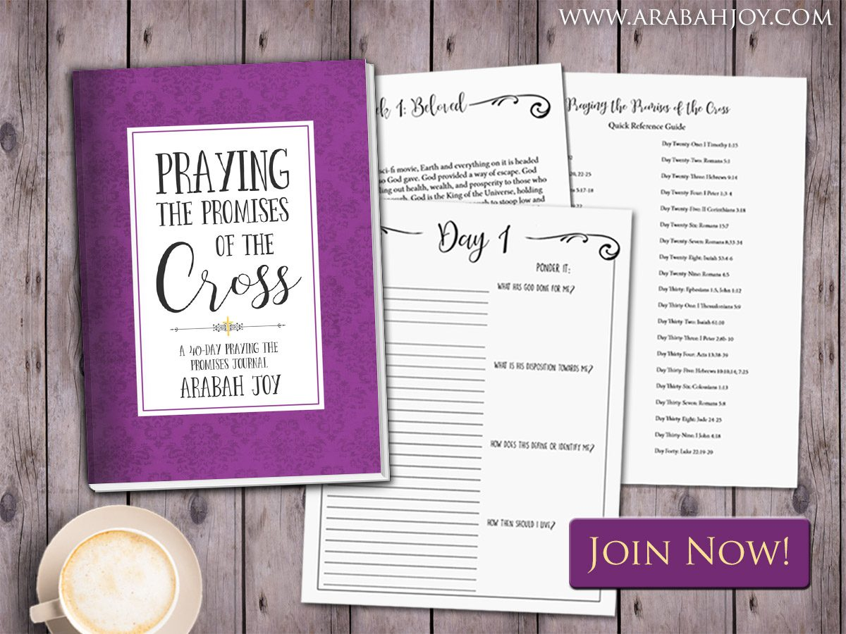 Praying the Promises of the Cross 40-Day Prayer Challenge