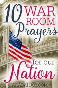 If you are like me, the news is discouraging and depressing. Our country needs to return to the Lord now more than ever! The battle we are facing must be won on our knees and here is your strategy for winning it. Together we can fight for our nation!