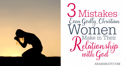Are you making one of these common, deadly mistakes in your relationship with God?