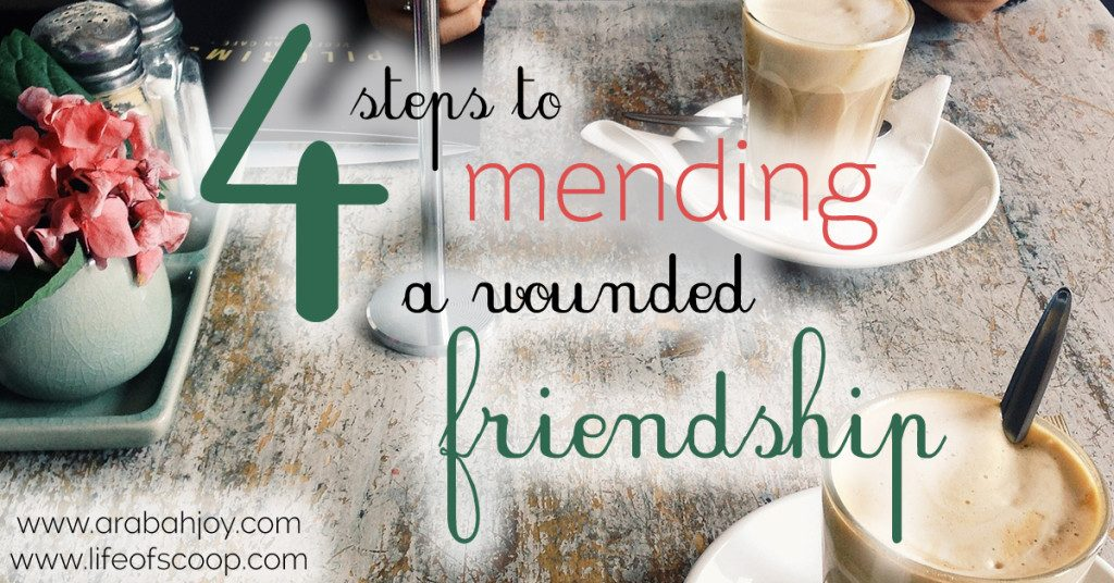 Mending Friendship