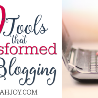 10 Tools that Transformed My Blogging