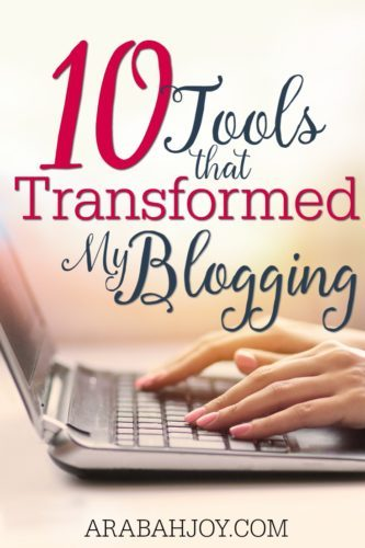 I frequently get asked how I've grown my blog to hundreds of thousands of monthly pageviews and over 25K email subscribers... and here are the tools that have helped me get there!